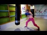 Training the worlds fastest girls boxer Evniki Sadvakasova and her family