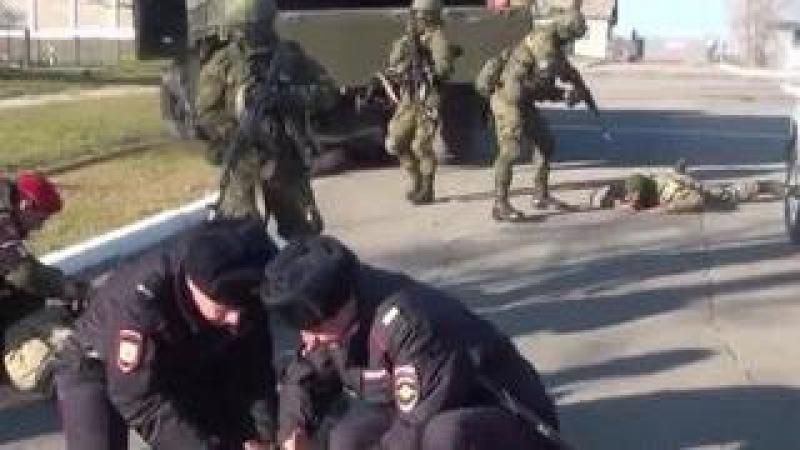 Учения Антитеррор в Уссурийске: военные уничтожили 50 террористов ВДВ и ОбрМТО