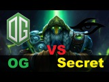 OG vs Team Secret | DOTA 2 LAN Starladder 3
