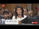 FULL Nikki Haley Senate Confirmation Hearing for UN Ambassador