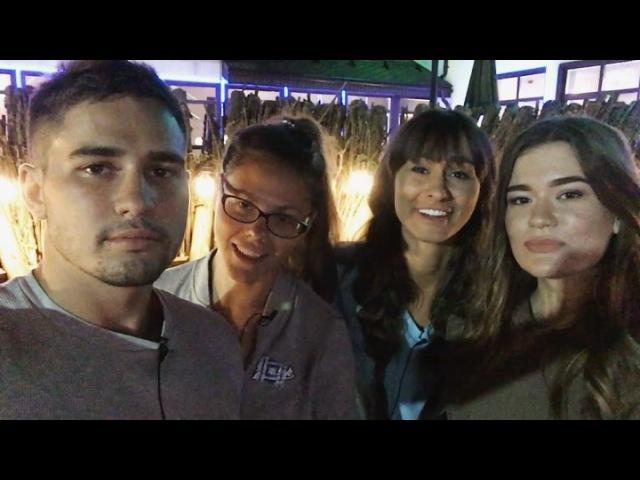 К Захару Саленко на проект приехали мама и две веселые сестры