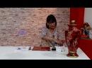 Rosita Zacarías - Bienvenidas TV en HD - Pinta un jarrón imitación mármol.