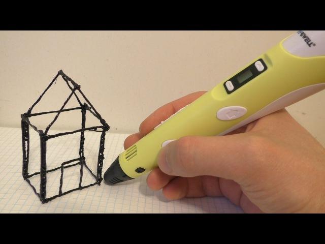 Обзор 3D ручки 2-го поколения