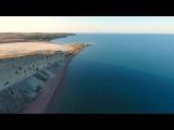 Крымъ 4K Солевое озеро Янышъ у затопленнаго городища Акра