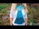 DIY Tutorial - Crochet Mermaid Tail Scarf - Shell Stitch Scarf Bufanda