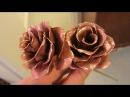 Цветок из металла Пошаговый принцип изготовления