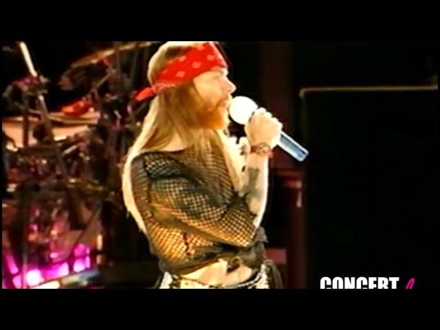 Guns n' Roses Hippodrome de Vincennes Paris 06 juin 1992 HQ