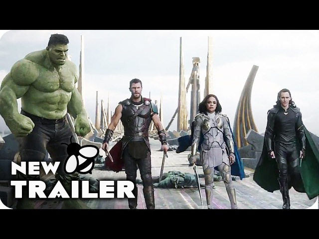THOR 3 RAGNAROK Comic Con International Trailer 2 (2017) Marvel Movie