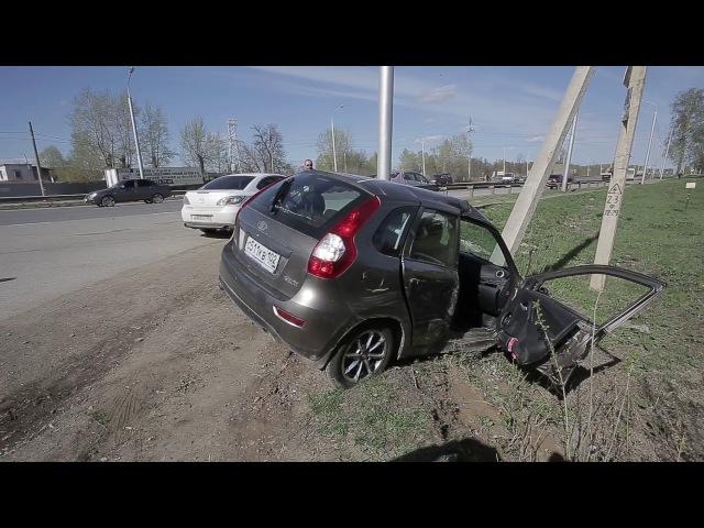 ДТП с пострадавшими на Шакшинской дороге в Уфе [Дорожный патруль]