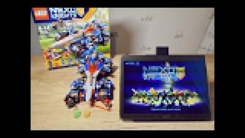 Устрашающий разрушитель Клэя сканируем Нексо Силы Лего Нексо Найтс. LEGO NEXO KNIGHTS 70315