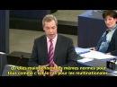 Nigel Farage : La Commission européenne ressemble à un abattoir pour politiciens ratés