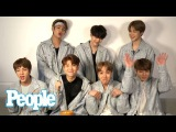 K-Pop Group BTS Dish On Who's Most Romantic, Korea Vs. USA &amp More Confessions People NOW People