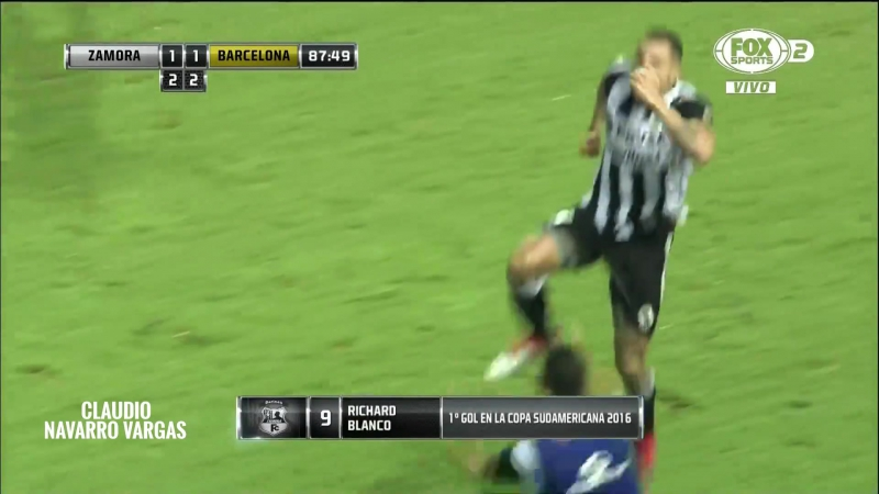 Zamora vs Barcelona FULL HD RESUMEN NARRADO Copa Sudamericana 19_08_2016 raport 1080p