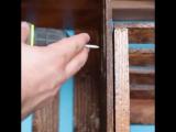 Полки для книг из старых ящиков