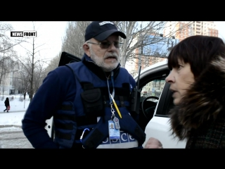 Жители Донецка_ «ОБСЕ, какой от вас толк Твари!»