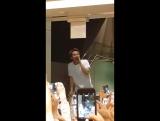 FANCAM 27.05.2017 Ынкван после показа мюзикла @ Hamlet