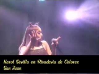 Я Луна - Karol Sevilla - En Rivadavia de Colores San Juan Show Completo