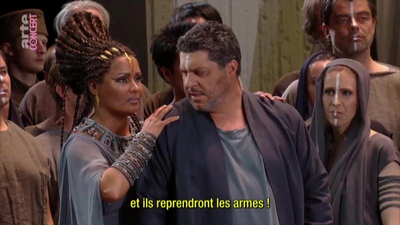 Giuseppe Verdi - Aida / Аида (Salzburger Festspiele, 2017) fr. sub.