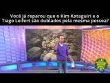 Tiago Leifert e Kim kataguiri são dublados pela mesma pessoa