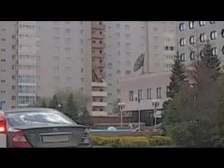 Падение люльки со строящегося дома на Шамшурина