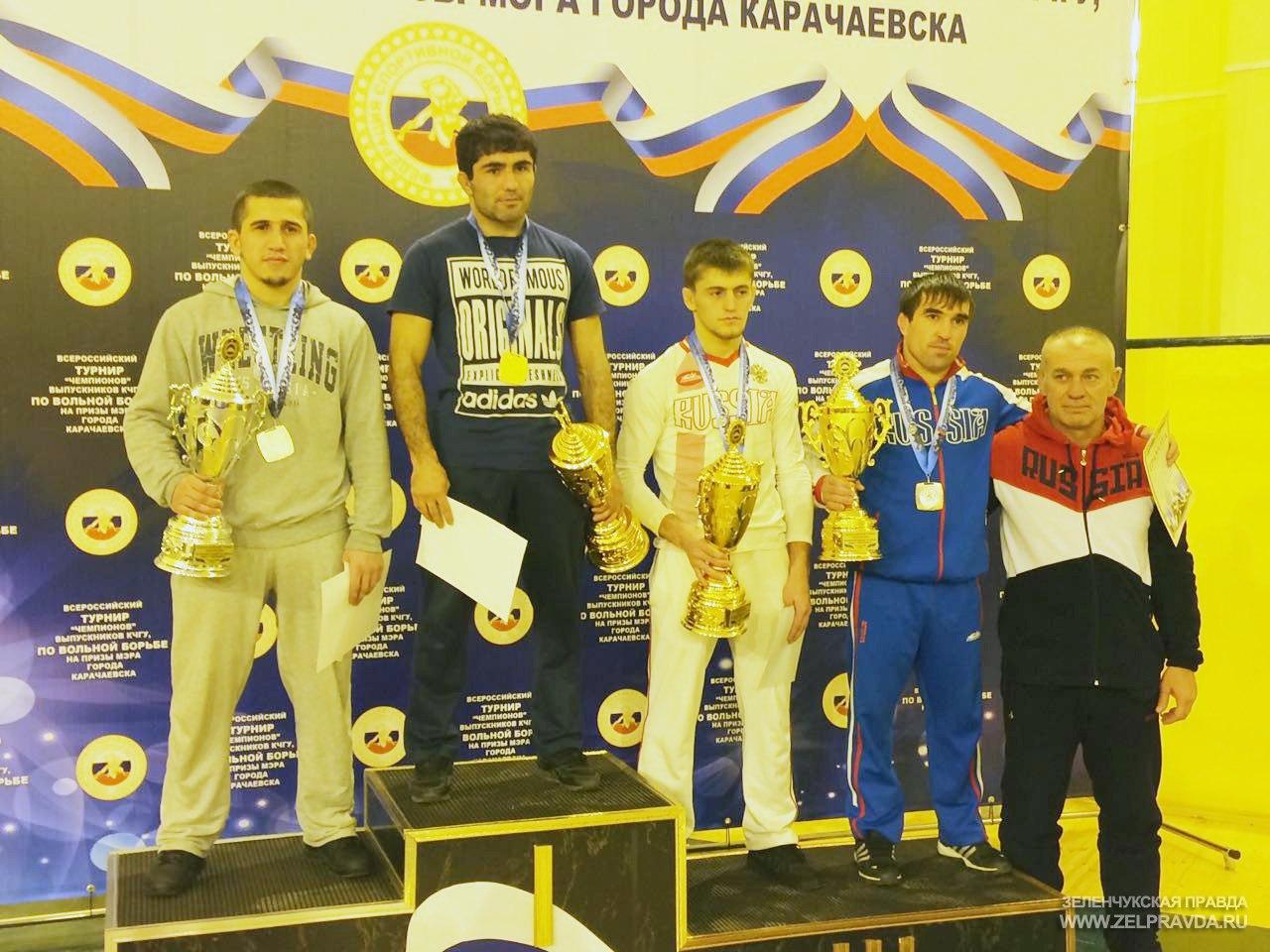 Спортсмен из Зеленчукского района призер Всероссийского турнира «Чемпионов»