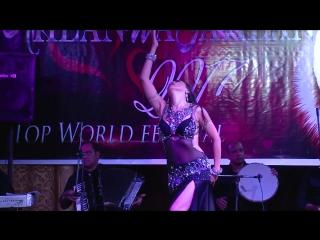 Alina Malikova Inta Omry Teacher show in Ahlan wa Sahlan 2017