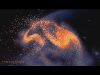 Слияние Млечного пути и галактики-Андромеда