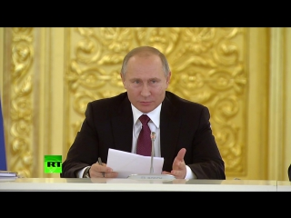 Путин о переданном ему постановлении суда- «Волосы дыбом встают»