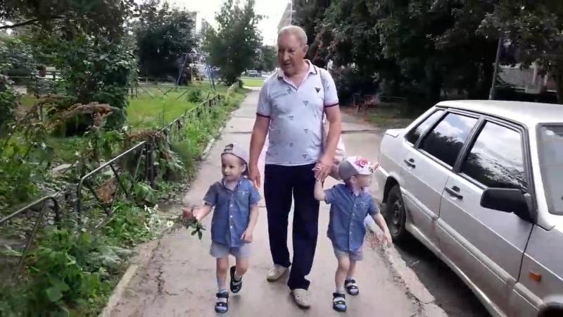 💖 Ловите немного солнечной летней прогулки с любимым дедом 🤗💗 прекрасныйдень моилюбимые лето2017