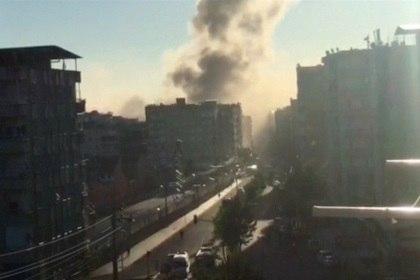 На юго-востоке Турции прогремел мощный взрыв