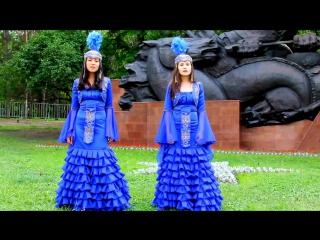 Казашки красиво поют на русском песню