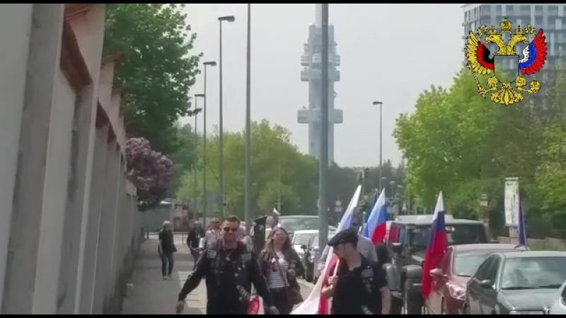 06.05.2017 Am Friedhof der sowjetischen Soldaten angekommen