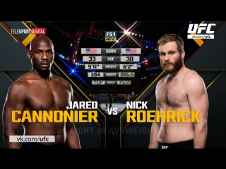The Ultimate Fighter 25 Джаред Каннонир vs Ник Роерик полный бой
