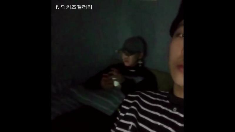딕키즈 크루 170207 Young B (양홍원,영비) 인스타그램 업로드 [ 미공개곡 ]