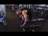 Victor Martinez. Тренировка мышц спины.