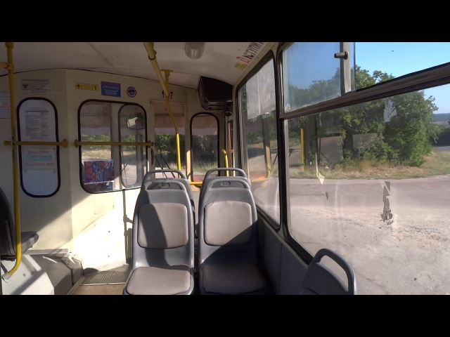 Севастополь троллейбус ЗиУ-682 на автономном ходу