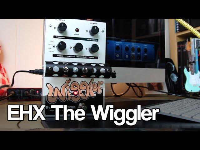 Electro-Harmonix The Wiggler | all-tube tremolo and vibrato
