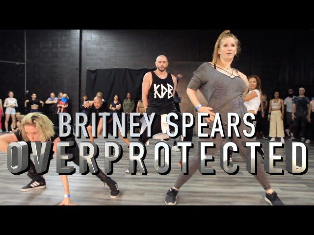 Overprotected - Britney Spears   Brian Friedman Choreography   MVO Workshop for Donyelle Jones