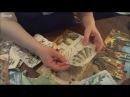 Составление композиции для фрески из салфеток Университет декупажа Людмила Михайловская