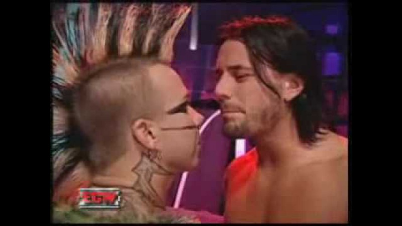 Cm Punk bitch slap Shannon Moore
