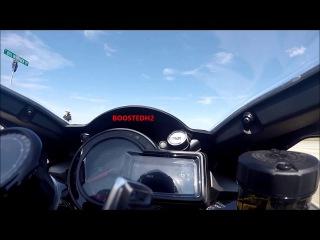 Kawasaki Ninja H2 Explodes at 188mph - READ THE DESCRIPTION