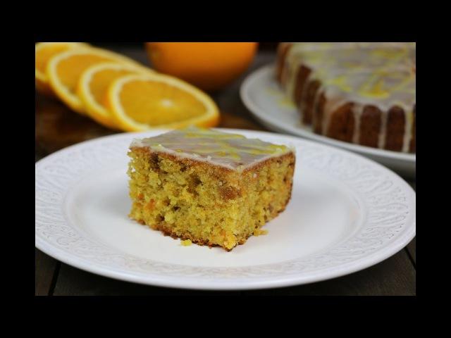 Морковный пирог с апельсиновой глазурью ✧ Orange Glazed Carrot Pie (English Subtitles)