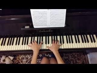 Красивая мелодия на пианино Раймонд Паулс - Долгая Дорога В Дюнах (пианино кавер)