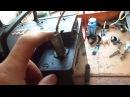 Попытка восстановления клеммы аккумулятора, наплавление угольным стержнем