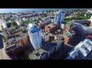 Самара Пл Куйбышева Европейский квартал Samara city Kuybyshev's sq DJI Phantom 3 2 june 2016