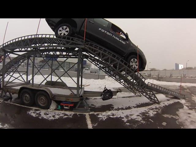 Китайский пикап Foton Tunland. Обзор и тест-драйв на искусственных препятствиях.