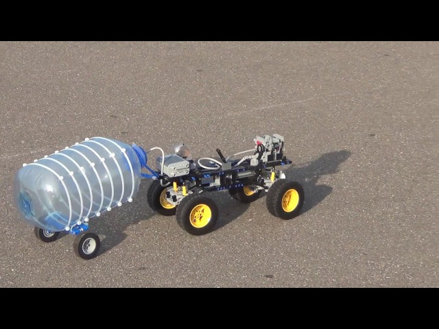 Lego technic pneumatic engine Second way of using