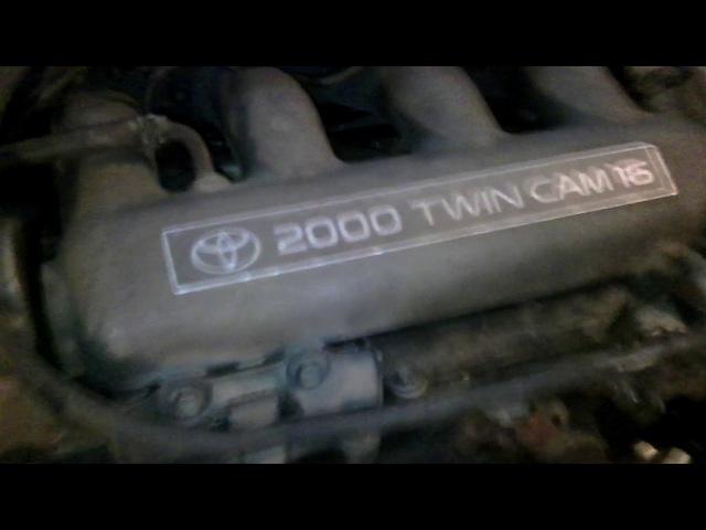 Первый запуск 3sge 3gen,свап на Toyota vista sv30