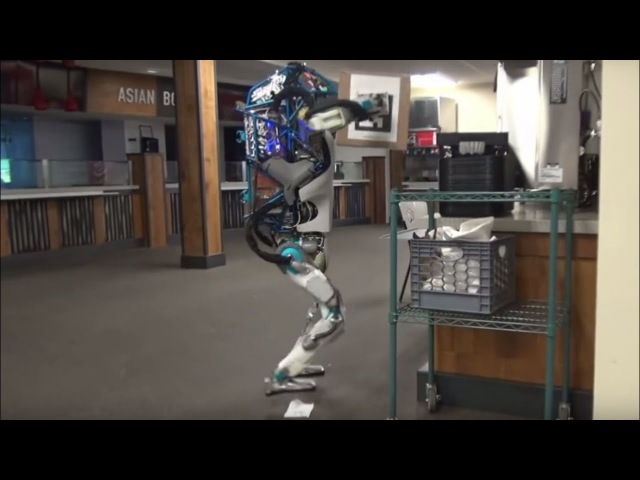 Hapless Boston Dynamics robot in shelf-stacking fail