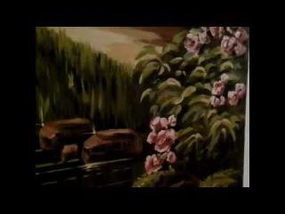 прихожая. роспись стен. художник Андрей Антонов. Омск 8 904 587 23 51